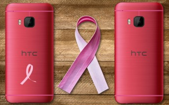 Pink HTC One M9 goes on sale in US