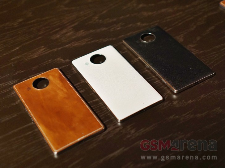 mozo 950  Genuine leather backs for Microsoft Lumia 950 and 950 XL from Mozo ...