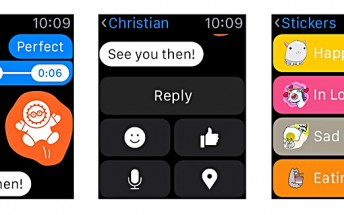 Facebook Messenger update brings support for Apple Watch