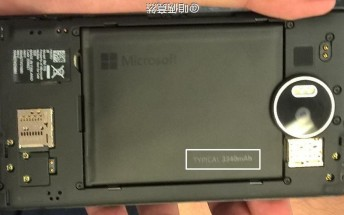 Microsoft Lumia 950XL will come with a removable battery