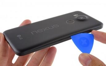 LG Nexus 5X is quite easy to repair according to iFixit