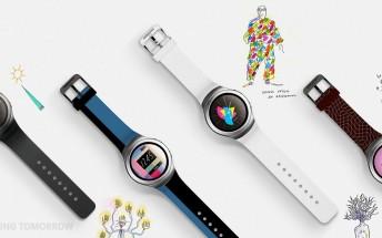 Samsung shows Gear S2 designer bands