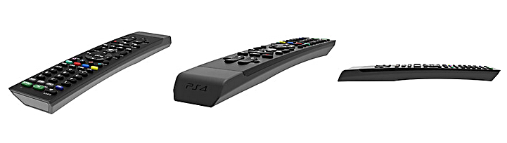 cable tv remote sonys new ps4 media remote can also control your tv and cable box
