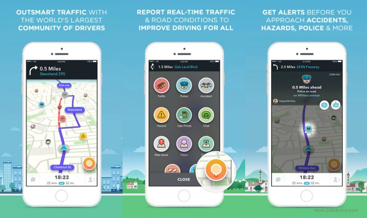 Waze social navigation app by Google receives big update - GSMArena blog