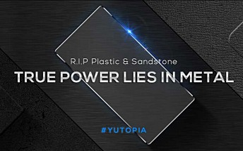 Teaser confirms Yu Yutopia will sport a metal body
