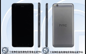 HTC One X9 with 5.5-inch display and octa-core CPU passes through TENAA