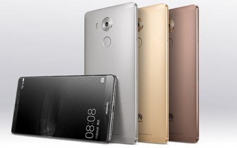 New leaked renders show the Huawei Mate 8 from all angles