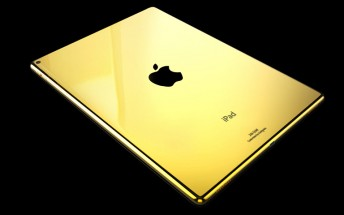 iPad Pro plated with gold, platinum, or rose gold now available for order