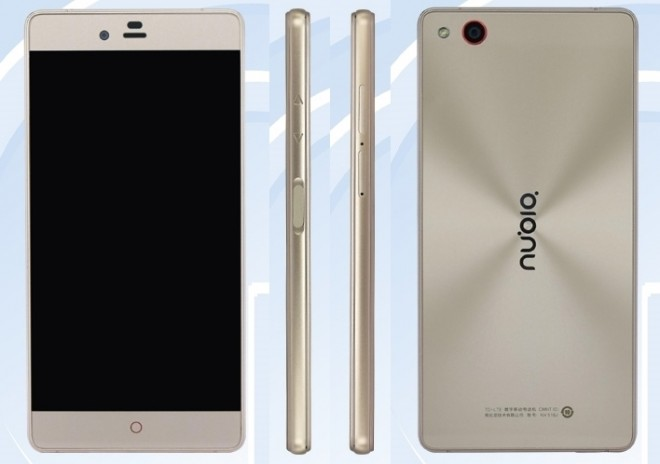 ZTE Nubia Z9 Max Elite with side-mounted fingerprint ...