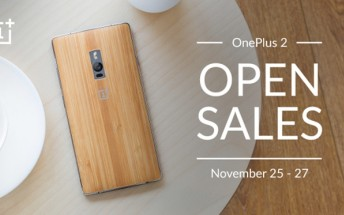 OnePlus 2 available on open sale in India for a limited period