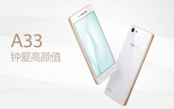 Entry-level Oppo A33 with 5-inch display and SD410 SoC launched