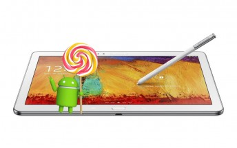 Android 5.1.1 rolled out for the Wi-Fi-only Samsung Galaxy Note 10.1 (2014)