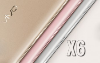 vivo X6 will come in Silver, Gold and Rose Gold