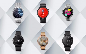 Android Wear gets nine new designer watch faces