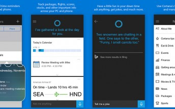 Cortana now available on Android and iOS