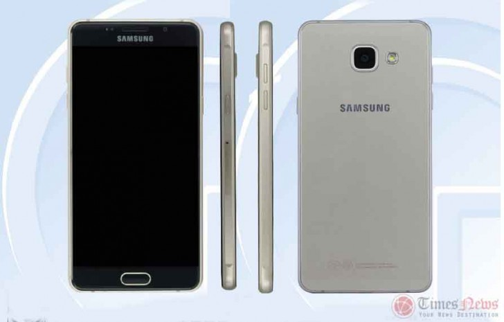 Samsung Galaxy A5 2016 With 52 Inch Display Passes