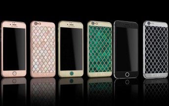 Givori's limited iPhone 6s Calypso combines diamonds and sea monsters