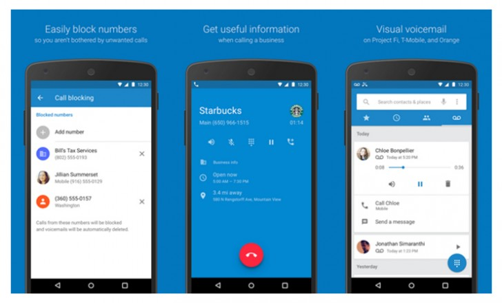 Google Phone and Contacts apps for Android 6.0 Marshmallow ...
