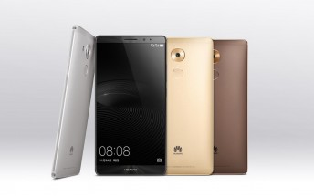 Huawei Mate 8 passes through FCC