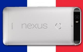 Amazon France sells the Nexus 6P 32GB at €500, €150 off