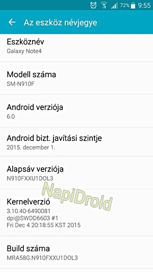 Samsung Galaxy Note 4 starts getting Android 6 0 - GSMArena