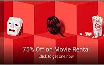 Google offering 75% off on Play Store movie rental