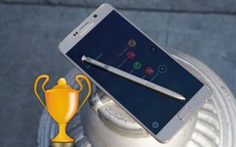 Poll results: Samsung Galaxy Note5 is the Phablet of the year 2015