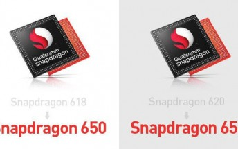 Qualcomm renames Snapdragon 618 and 620 to Snapdragon 650 and 652