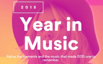 Spotify wants you to relive 2015 through music with Your Year in Music