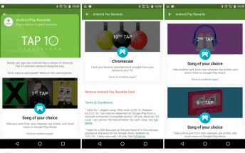 Tap 10 promo for Android Pay lets you win a Chromecast and free songs