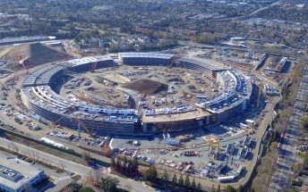 Apple Campus 2 progressing steadily, ring structure almost done