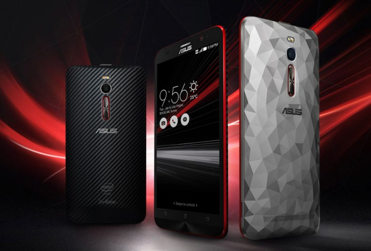 asus zenfone 2 deluxe special edition with intel z3590
