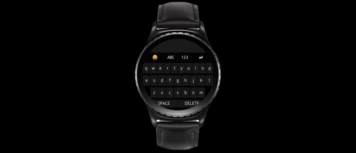 The Samsung Gear S2 now has a QWERTY keyboard and a message