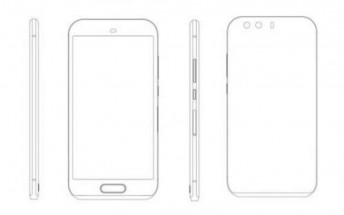 Purported Huawei P9 schematic shows fingerprint scanner, dual cameras