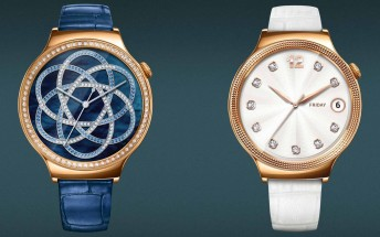 Huawei Watch Elegant and Jewel versions unveiled, ladies-only