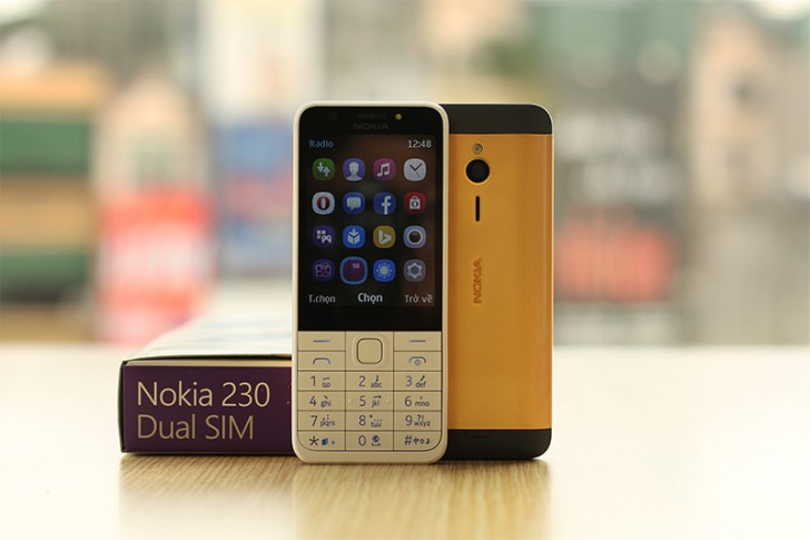 That's the price if you bring in your own Nokia 230, but for VND 2,800,000  ($125) the company will happily pull a ready gold-plated one off its store  ...