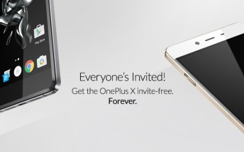 OnePlus X will no longer require invites to purchase