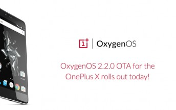 OxygenOS 2.2.0 for the OnePlus X is rolling out today