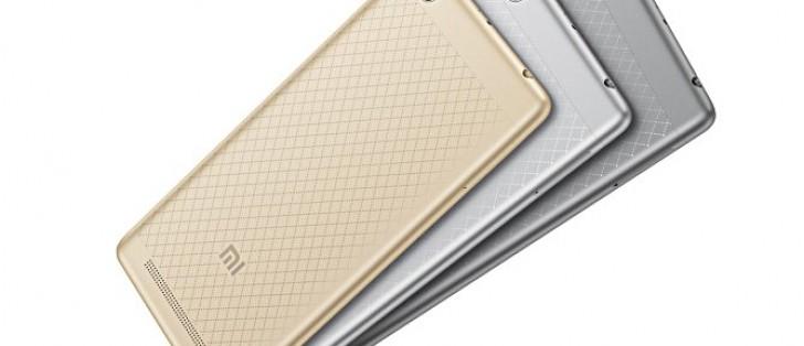 Xiaomi Redmi 3 announced with Snapdragon 616 SoC, 4,100mAh ...