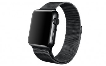 New official Space Black Milanese Loop Apple Watch band spotted online