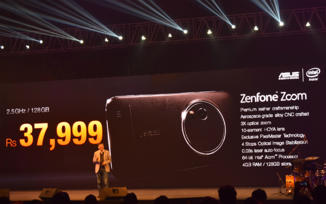 Asus Zenfone Zoom with 13MP camera and 3x optical zoom