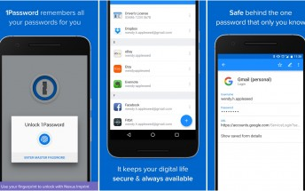 1Password for Android gets Material Design and fingerprint unlock
