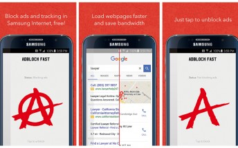 AdBlock Fast for Samsung's Android browser is now back in the Play Store