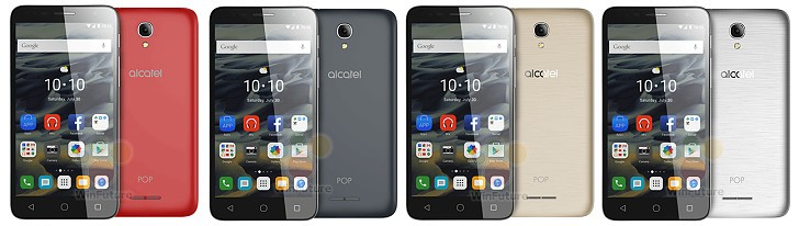 Alcatel OneTouch Pop 4 lineup leaks ahead of MWC – meet the Pop 4S