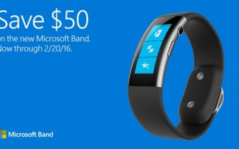 Save $50 on Microsoft Band 2, $100 on Surface Pro 4
