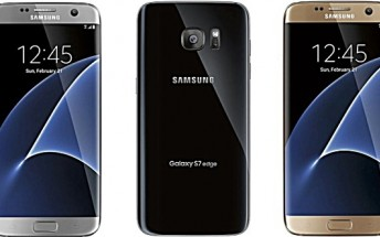 Samsung Galaxy S7/S7 edge color options revealed in new renders