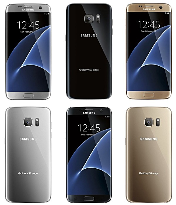 Samsung Galaxy S7s7 Edge Color Options Revealed In New