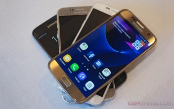 Samsung says Galaxy S7/S7 edge pre-orders stronger-than-expected