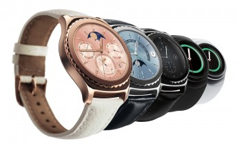 Rose gold and platinum Samsung Gear S2 Classic will be out in the US tomorrow