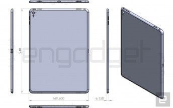 Leaked iPad Air 3 drawing reveals quad speakers, Smart Connector, LED flash